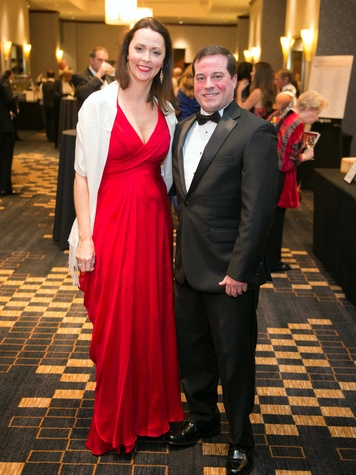 Houston, Pink Door Night of the Phoenix Gala, November 2015, Rachel and James Jones