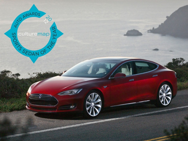 Sports Sedan Of The Year All Electric And All Sport The