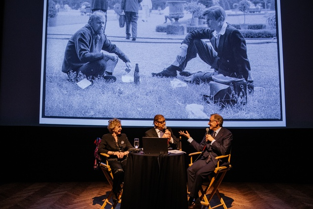 Michael York, Pat York and Gary Tinterow at Museum of Fine Arts Houston