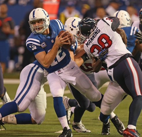 Andrew Luck Texans