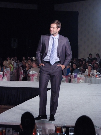 March of Dimes, Labor Day event, August 2012, Male Model, fashion show, runwa