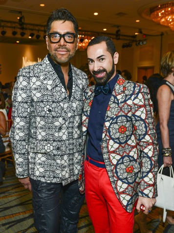 23 Ceron and Fady Armanious at the Best Dressed luncheon March 2014