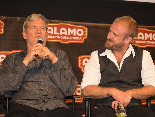 Hell or High Water Austin premiere Alamo Drafthouse panel Jeff Bridges Ben Foster