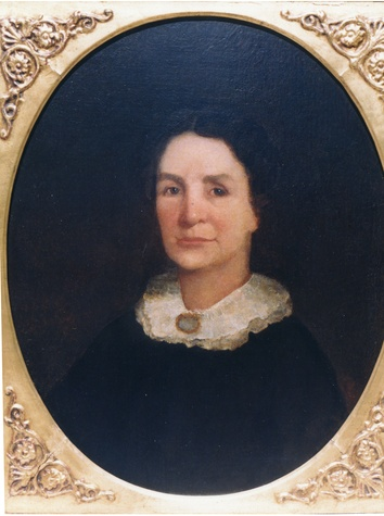 Jane Long, the Mother of Texas portrait