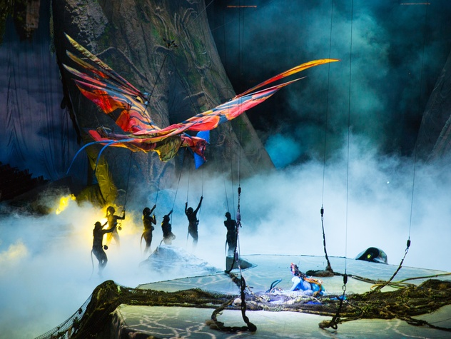 Houston, Cirque du Soleil's Toruk, January 2016