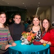 Priscilla Pietz, from left Ansan Lutzel, Arianna Bermudez and Lyndsay Sweeny at the MFAH Art Crowd Party November 2014