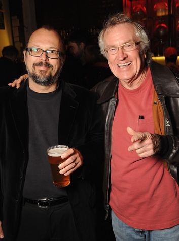 27 Rex Koontz, left, and Wayne Gilbert at the CounterCurrent Kickoff Party March 2015