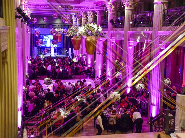 21 crowd, venue at The Corinthian at the Children's Museum Gala October 2013
