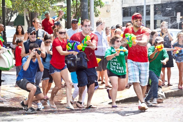Austin Splash Mob