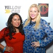 Meena Haque, left, and Stephanie Becker at the Don Vaughn CD Launch Party August 2014