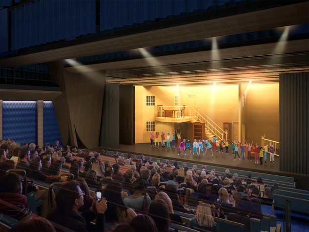 MATCH large theatre rendering