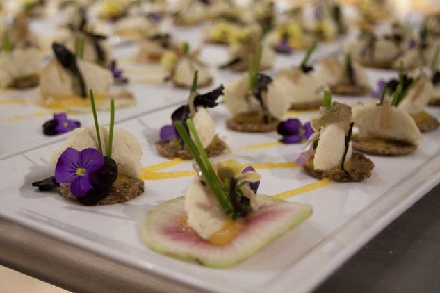 Houston, Define Foods Supper Club, May 2015, Black Trumpet Mushroom Crisps