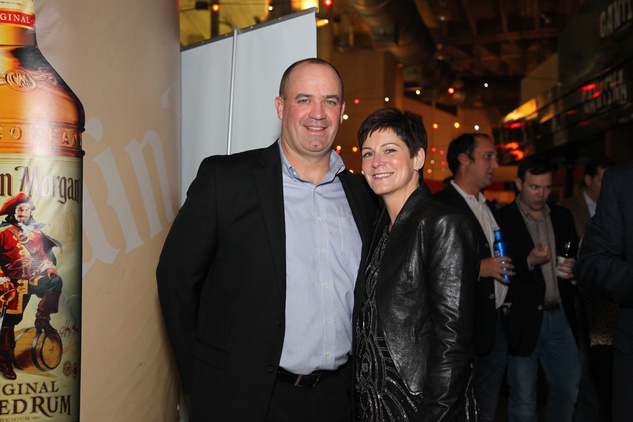 Bill and Colleen O'Brien at the Friday Night Lights DePelchin benefit November 2014
