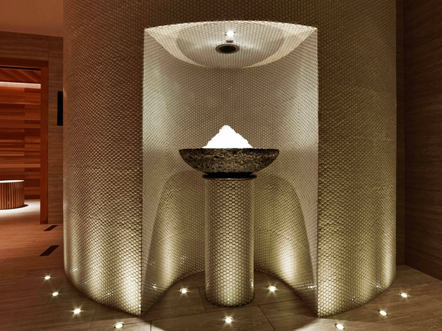 ice fountain, ESPA, The Joule