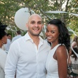 Alex Flores and Milisa Alexis at the Urban Green Birthday en Blanc May 2014