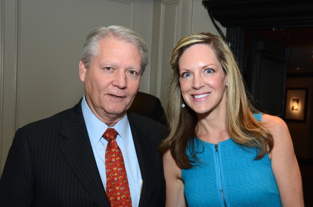 Mike and Denise Maher at the Children at Risk luncheon October 2014