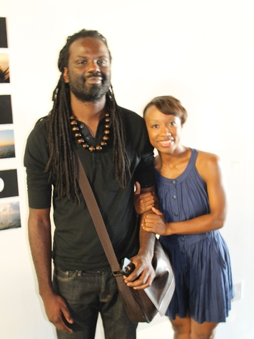 Access Contemporary Houston August 2013 Deon Robinson and Courtney Jones