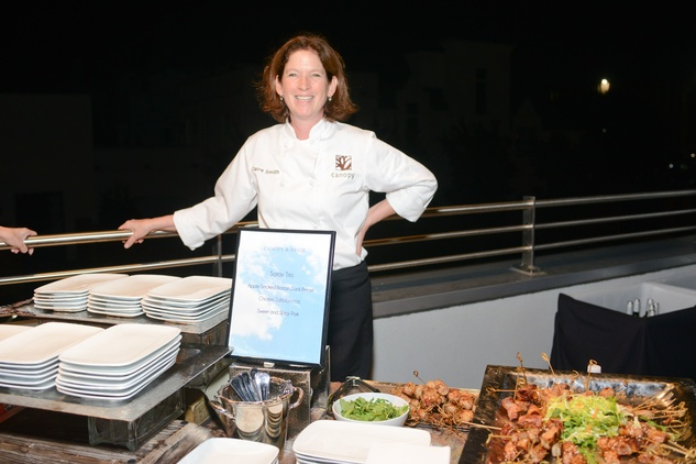 News, Shelby, Dress for Success, October 2014, chef Claire Smith