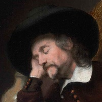 News_Dutch art_MFAH_Maes_Sleeping Man