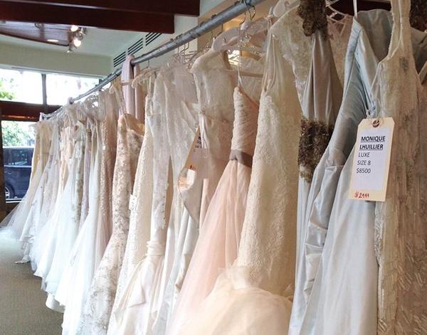 Bridezilla alert: Largest designer wedding gown sale ever hits ...
