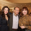 Alex Blair, from left, Alex Martinez and Barbara Van Postman at the Foundation for Teen Health luncheon October 2014