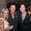 Kristin Abello, from left, Cynthia Adkins and Clay Walker at Two Steppin' with TIRR Concert with Jerry Jeff Walker and Clay Walker October 2014