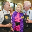 5 ESCAPE Celebrity Waiter Dinner April 2013 Walt Cunningham, Lynn Wyatt, Gene Cernan