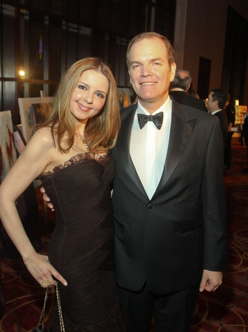 News_Houston Ballet Ball_February 2012_Sallymoon Benz_Dr. Alan Bentz