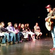 Adam Pascal leads a Straight From New York master class in Dallas