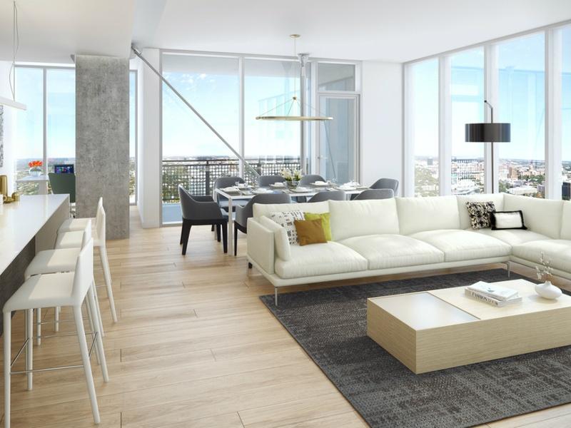 Slideshow sneak peek inside austin 39 s tallest building and for Luxury condo living