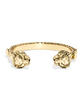 Gilded Leo Cuff  - Megan Runser - As Good As Gold