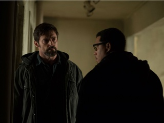 Hugh Jackman and Terrence Howard in Prisoners