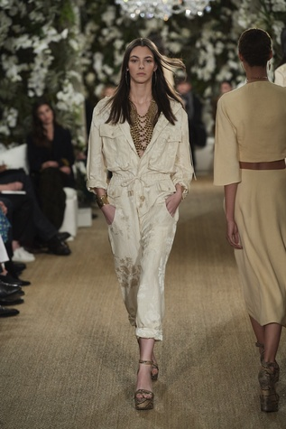 Ralph Lauren fall 2017 runway look 3