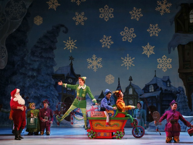 Cast of the national tour of Elf the Musical