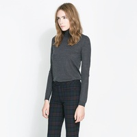 CHECKED LEGGING STYLE TROUSERS