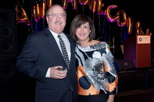 12 Mitch and Linda Buchman at the Spring Branch Education Foundation Gala October 2014