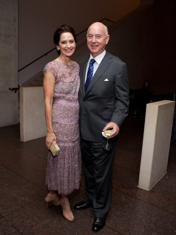 6 Laurie and Reed Morian at the MFAH opening reception for American Adversaries October 2013