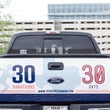 News, Shelby, Texas Freedom Run, Truck says it all, June 2014
