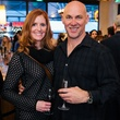 6 Jodi St. Clair and Russell Reeves at the Artesa wine tasting at Cru March 2014