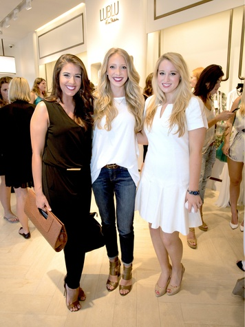 Michelle Hanson, Karley Kiker, Cassidy Woodard, Circle Seven Five launch