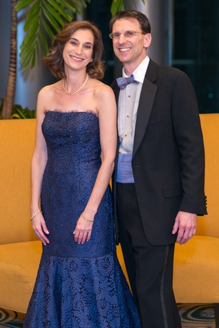 Roberta and Lee Schwartz at the Winter Ball January 2015