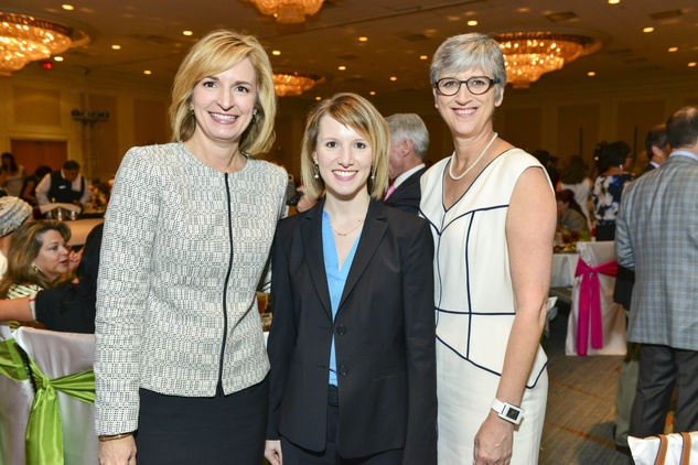 News, Children's Assessment Center luncheon, Devon Anderson, Tiffany Dupree, Jane Waters, April 2014