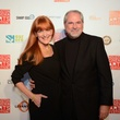 Gracie and Jim Cavnar at the Houston Cinema Arts Festival opening night party November 2013