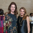 Phoebe Tudor, left, and Lindley Arnoldy at the SPA luncheon with Lauren Bush Lauren October 2014