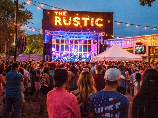 In Addition To A Great Patio, The Rustic Is A Top Spot For Live Music.  Photo Courtesy Of The Rustic