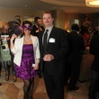 Sahrish Agha and Will McGinnis at the Modern Professionals murder mystery event December 2013