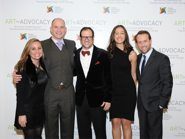 Julie Giacobbe, Steven Caufield, Rob Giacobbe, Lauren Soulis, Robert W. Ivey III, Art For Advocacy