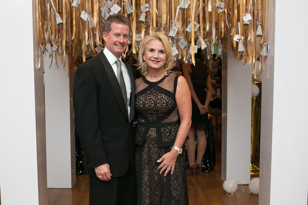 4 Darrell and Kathleen Pennington at the Junior League of Houston Gala February 2015