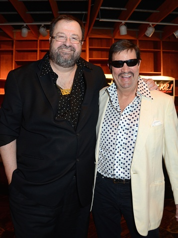 Bob Sanborn and Bob Westendarp at the Children at Risk Gala with Kool and the Gang April 2014
