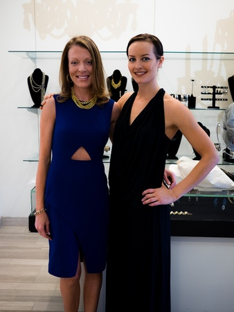 Jennifer Passanante, Marci Waddle at 2014 CultureMap Stylemaker Awards